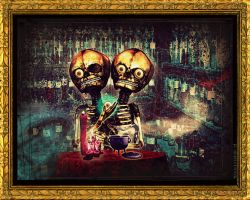 Breakfast at Spooky Pub by MarchCoven