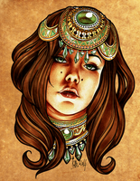 Gypsy diadem princess by cam-miyu