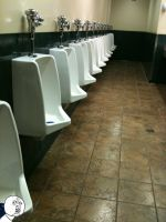 Y U NEED SO MANY URINALS? by NuclearErf
