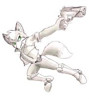 Fox McCloud by shiroiwolf