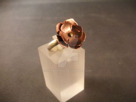Flower ring by SarahD1988