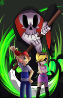 Grim Adventures by spittfireart