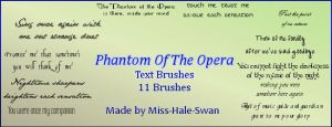 POTO brushes by Miss-Hale-Swan