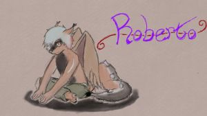 Robbie the Drolf by PsychoAnthro