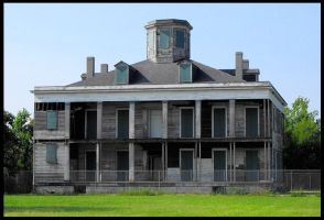 The Old LeBeau Plantation by SalemCat