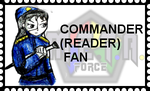 Commander Reader Love Stamp by veekaizhanez