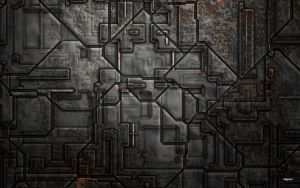 Mecha Wall by Skybase