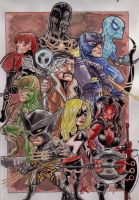 Fear Itself: The Mighty (Colored) by BluBoiArt