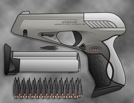 ANKSAR ETP pistol by sharp-n-pointy