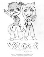 Anime Expo 2012 - VGCats Fanart by TwilitAngel