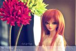 BJD Challenge - Day3: Flowers by Eludys