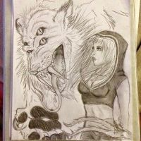 Savoy Cat and Mona by OxBloodrayne1989xO
