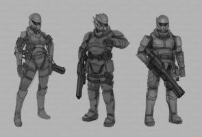 Star Wars Modified Miralukan Armored Concepts 2 by abellius