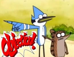 mordecai and rigby objection by megasonicbros