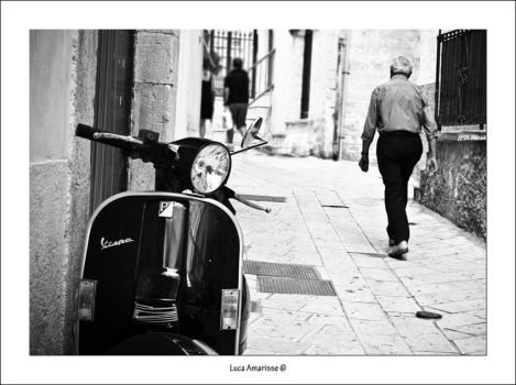 vespa and Vieste 2 by recycleit