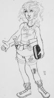 Annabeth chase by LuckyBucky74
