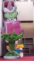 Welcome Grinch by Phantomoshop