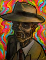 Cadaver in Technicolor Nightmare by rawjawbone