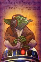 DJ Yoda by GraphicGeek