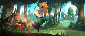 Adventure-time by eWKn