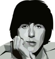 George Harrison by musicisnotmisery
