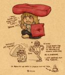 My Mighty Sofa Fort by StressedJenny