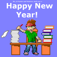 Happy New Year but... by dra2k4