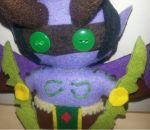 Illidan Stormrage Doll Close up by azay04