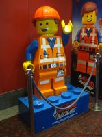 THE LEGO MOVIE Emmet Brickowski by angela808