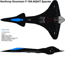 F-19A Night Specter by bagera3005