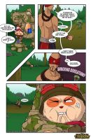 Teemo's Wordless Rage - LoL Comic Contest by apieceofbread