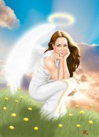 For my Angel by Age-Velez