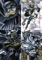 Marvel 70th Sketch Cards -y by RichardCox