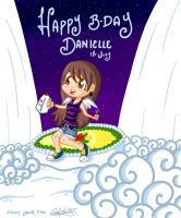 Happy B-Day Danielle by Enyoiyourself