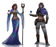 Orb Casters by CGlas