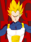 SUPER VEGETA! by Redd-Boy