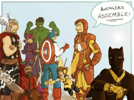Avengers Assemble by yamiswift
