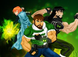 Ben 10,000 Alien Force by NaeChaos13