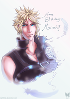 FF7: Happy b-day Manah by DarkLitria