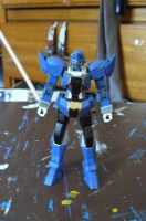 Gokai Change! Gundam Blue! 1 by nikinaga