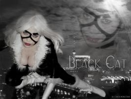 Jay Swan as Black Cat by carolmanachan