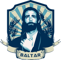 Gaius Baltar T-shirt Design by Lunai