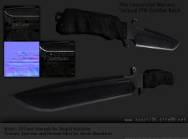 Tactical ITO Combat Knife by Kosai106