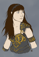 Xena warrior princess by Alisha-town