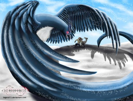 Giant Articuno Alert by Legend13
