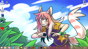 April 2016 Support wallpaper by ClefdeSoll