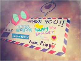 . Thanks from Piwy  . by PiwyLullaby