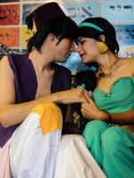 Aladdin x Jasmine - Cosplay Session 21 by Bahamut-Eternal