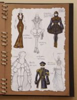Steampunk Fashion Book: 15/16 by Jesse-Gourgeon