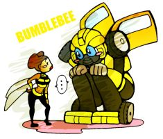 BUMBLEBEE by BACBAC-MIKI